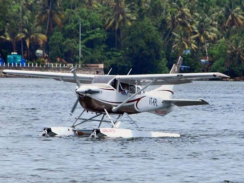 Seaplane tourism in Goa from August