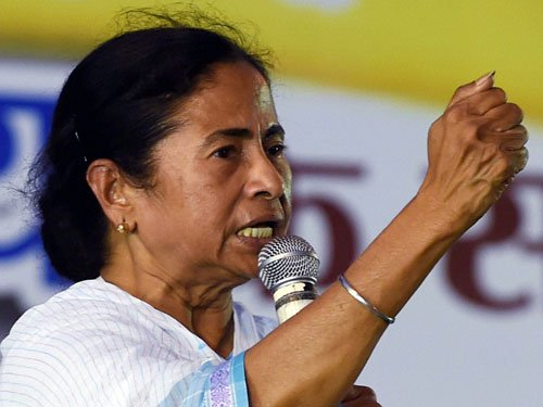 Assembly polls to be held on time: Mamata
