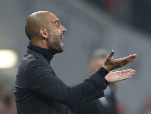 Guardiola: New contract after a beer shower?