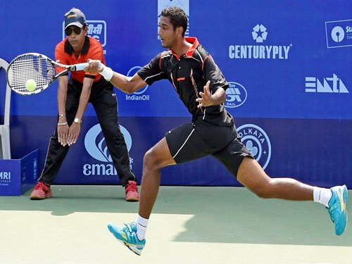 Ramkumar to face wild card entrant