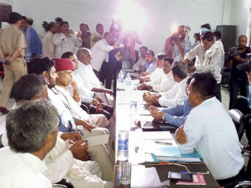 Come to Bayana with concrete proposal: Gujjars to government