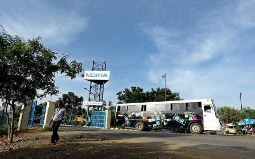 Nokia withdraws plea to sell Chennai unit as buyer backs out