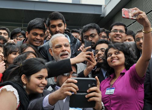 PM has more selfies than all ministers together: Nitish