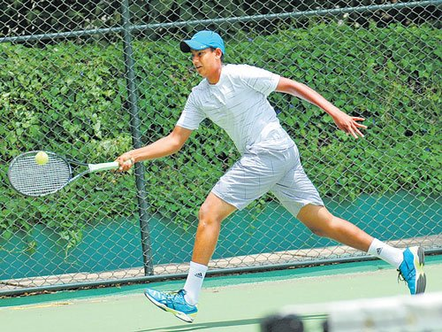 Ramkumar sees off Sidarth test