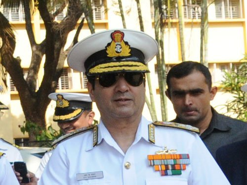 Navy minutely monitoring Chinese activities in Indian Ocean