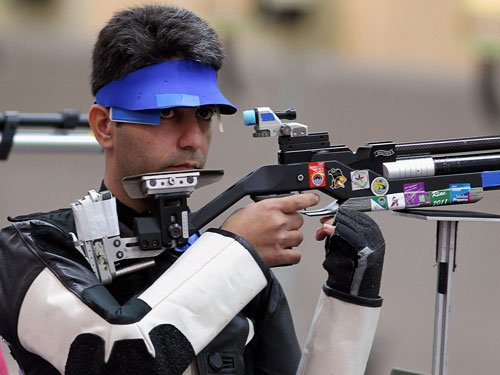 Bindra earns India another quota place for Rio Olympics