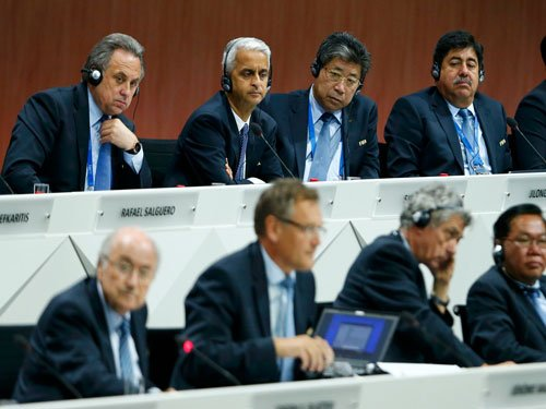 All-clear given after bomb threat at FIFA congress