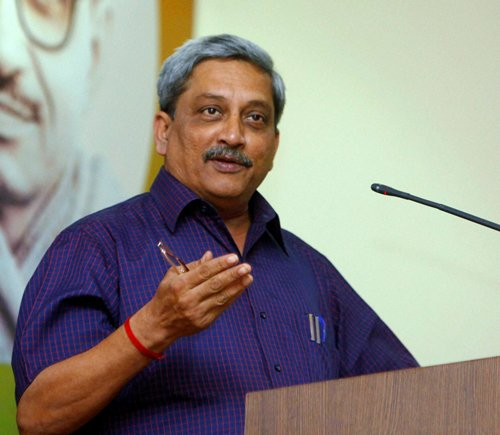 Parikkar rules out combat role of women in armed forces