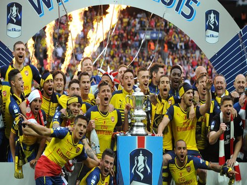 Arsenal crowned FA Cup champions with 4-0 rout of Aston Villa