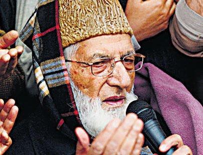 People will continue waving Pak flags in Kashmir: Geelani