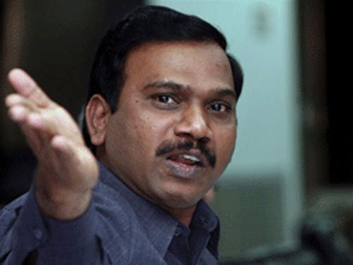 Raja conspired with others to favour ineligible telecom firms: ED