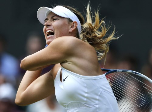 Defending champion Sharapova sent packing in Paris