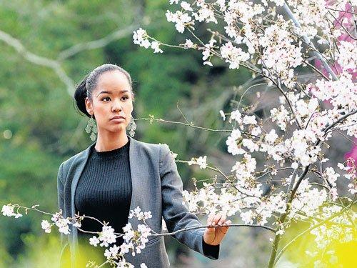 In mono-ethnic Japan,  a bi-racial beauty queen