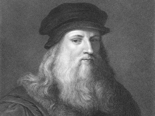 Rare 500-year-old image of Leonardo da Vinci identified