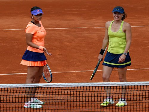Indian challenge ends as Sania-Martina bow out of French Open