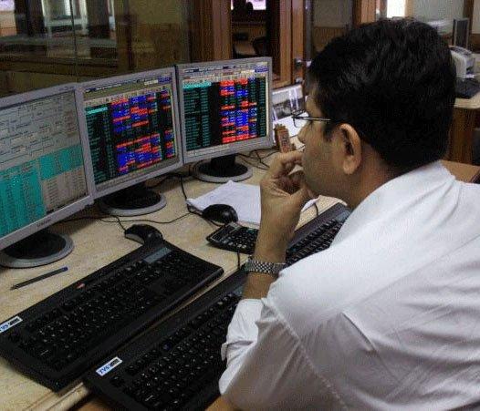 Sensex closes 45 points down, banking stocks fall