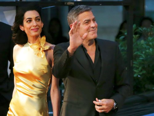 Amal Clooney taking acting classes