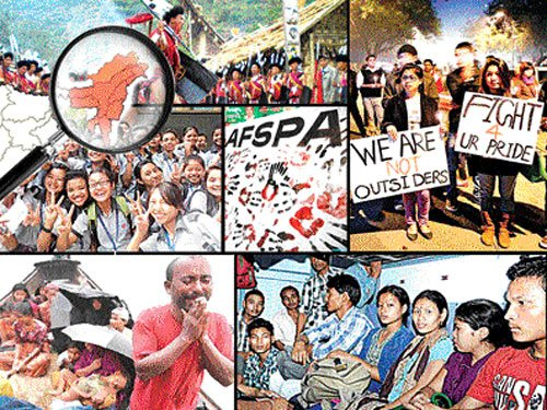 Hope amid unrest in North-East