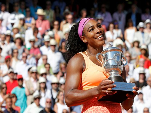 Serena, the queen of clay
