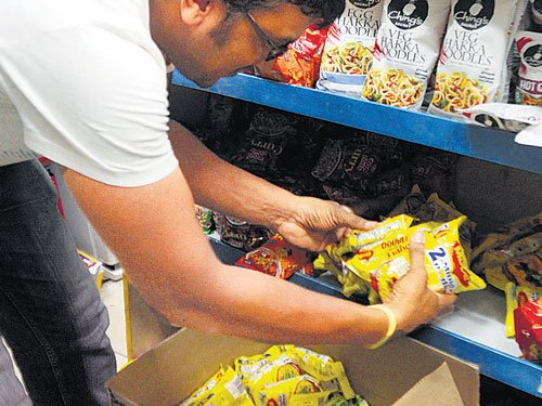 Temporary ban on Maggi in State