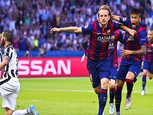 Barcelona cap great season with fifth European Cup soccer win