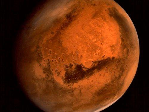 Glass deposits show Mars once had life