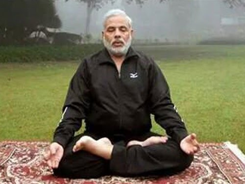 PM not to perform Yoga at Rajpath event: Sushma