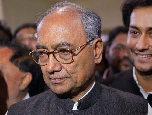 Modi camouflaging his failures by 'nautanki': Digvijay Singh