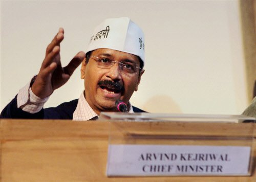 Kejriwal writes to MHA asking it not to interfere