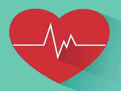The right heart beat