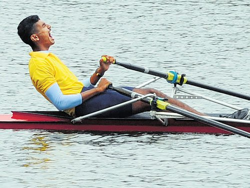 Ajith makes it to Single Sculls final