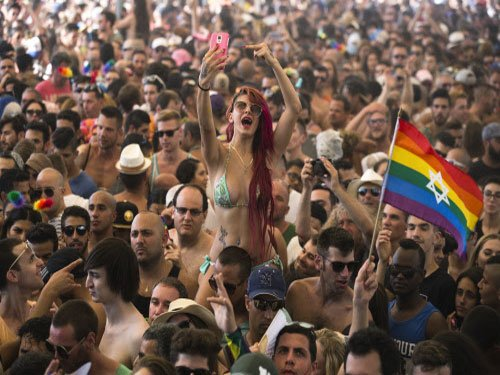 Tel Aviv hosts Asia's largest gay pride parade
