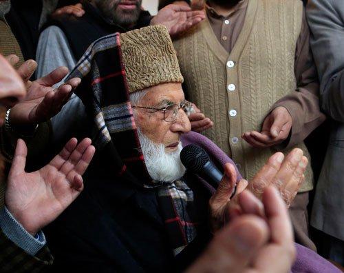 Geelani put under house arrest on eve of 'anti-national' seminar