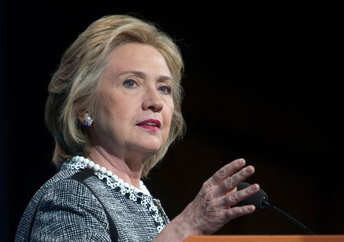 Clinton calls for prosperity for all at first campaign rally