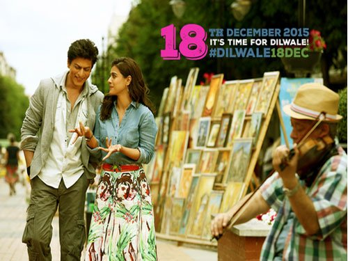 SRK's 'Dilwale' to release on December 18, twitter reacts