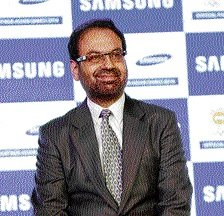 Samsung toasts its 'Make for India'