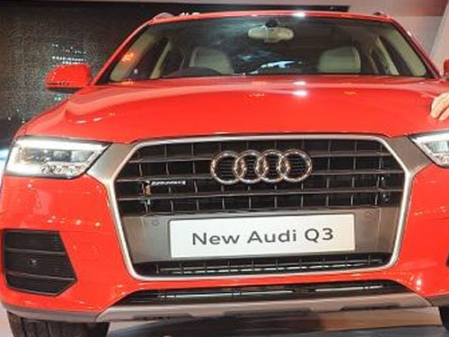 Audi drives in all-new SUV Q3 variant
