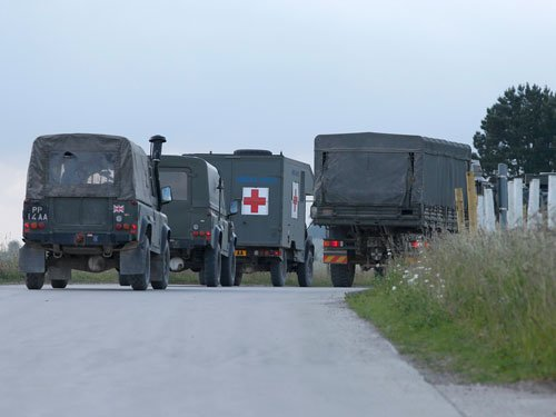 Indian, British soldiers hurt in UK troop carrier pile-up