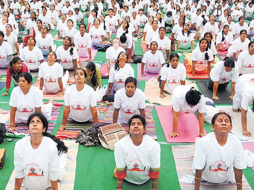 Yoga therapy offers hope  to depression patients