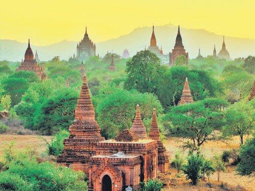 Land of pagodas