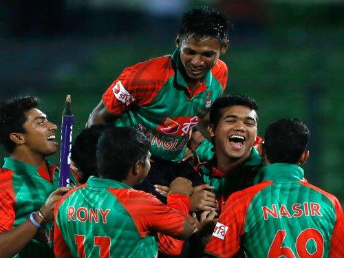 Bangladesh vanquish Indians