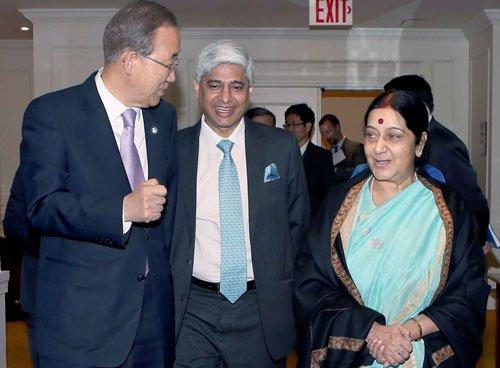 UN's decision to mark yoga day shows India's soft power:Swaraj