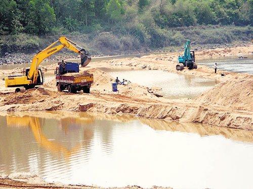 Grama Panchayats to distribute sand