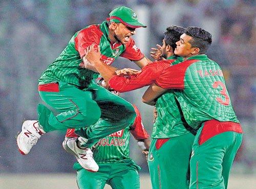 Bangladesh erupt in celebrations