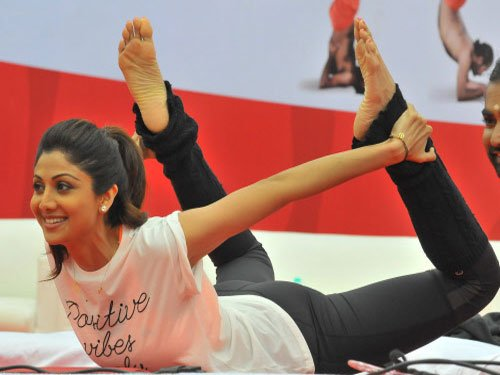Yoga should be kept away from politics: Shilpa Shetty