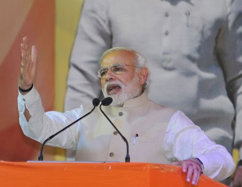 Can't leave poor to their fate, says Modi