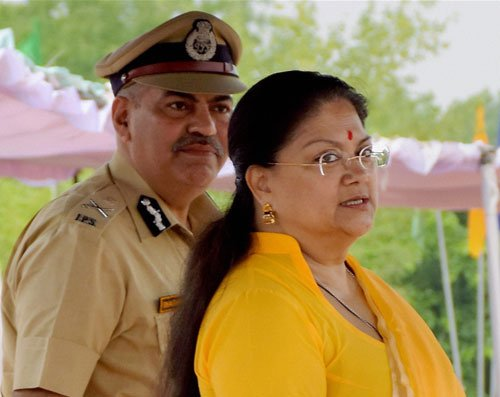 Raje's office says media tarnishing her image