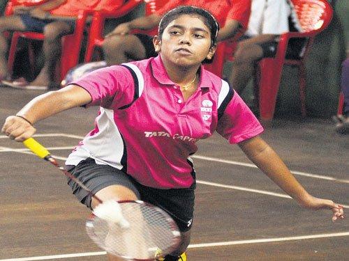 Siddharth in semis; Ashwini-Mithula win