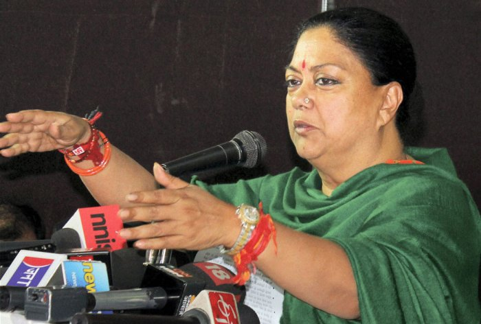 BJP 'fully supports' Raje