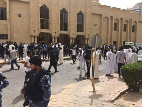 Kuwait mosque bomb toll rises to 25 dead: ministry